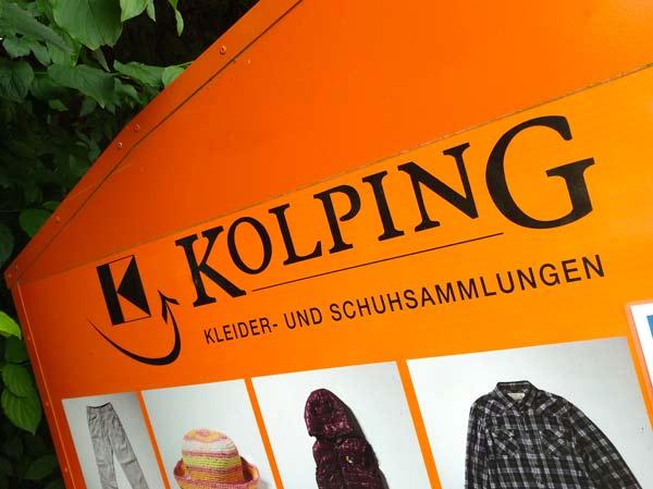 Corona-Pause beendet:  Kolpings Kleidercontainer stehen wieder